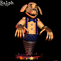 Ralph the Dog - FNAF fan character by GamesProduction