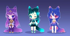 Nightfox Adoptables {CLOSED} by LittleRueKitty