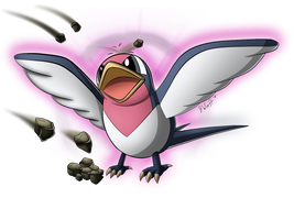 Taillow used Secret Power!