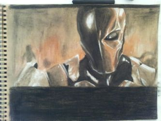 Deathstroke: Arkham Origins by cat-gray-and-me78