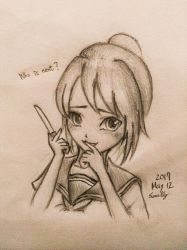 Yandere Chan concept sketch by summilly