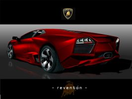 Lamborghini 'REDenton' Rear by xiquiel