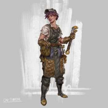 RPG Class day 04: Tinker. by Jordy-Knoop