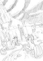 Heated Mission_Collab_sketch by Tsitra360