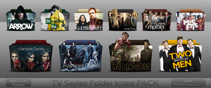 TV Series folder icons PACK by atty12