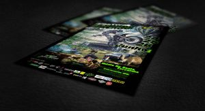 Extreme Village Sport Challenge Flyers by capdevil13