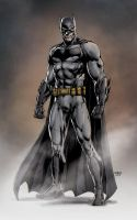 Ben Affleck's Batman by Jason Fabok by BatmanMoumen