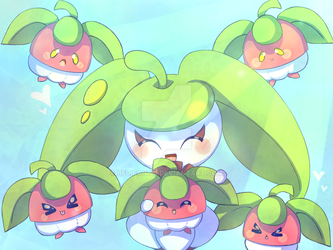 Steenee and the Bounsweets~ by bfdifan123