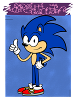 [TLH] Art Style: Sonic the Hedgehog by BRSstarJV