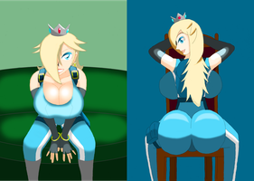 Rosalina suits up for thrill of the stars by HelizukeWolfknight