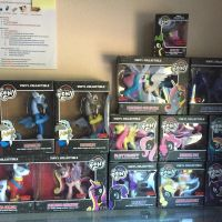 MLP Funko collection  by XrosBrony