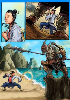 the legend of nezha interior page 23 coming soon by wanderlei78