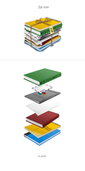 Zip icon by youdu
