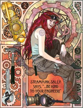 Steampunk Sally - New by ChazKemp