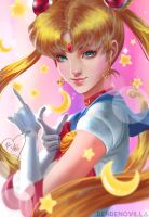 Sailermoon contest of Artgerm by catwithneinlives