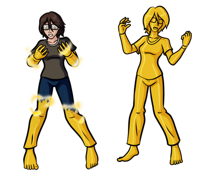 Kris' Quintet of Horrors - Midas Touch by BiscuitKris
