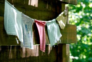 Prayer Flags by El-Sharra