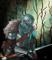 Dark Souls II Warrior by Billyib