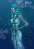Tyrande again by LadySiryna