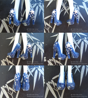 Monster High shoes - Deep Space by TifaTofu