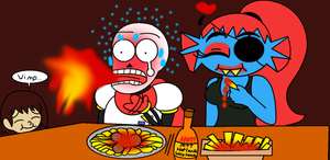 undyrus: a spicy date by Scarlet-Magus714
