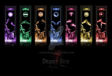 The Seven Deadly Sins by RosinAngel