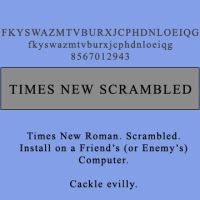Times New Scrambled by Mnadler