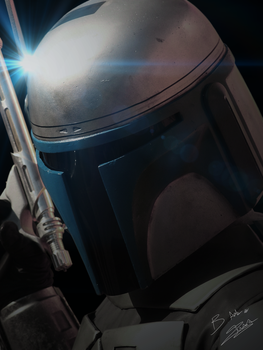 Jango Fett wallpaper by AxzlRose