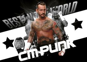 BEST CM PUNK IN THE WORLD by Elowd