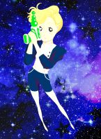 Girl In Space by CassandreLucas