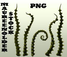 STOCK PNG tentacles4 by MaureenOlder