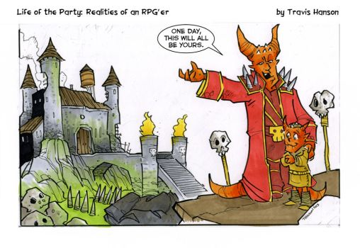 Monsters and sons... RPG comic by travisJhanson