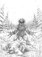 Weapon X pencils by VASS-comics