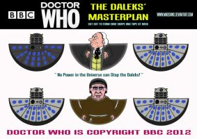 Doctor Who - The Daleks Masterplan by mikedaws