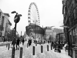 The Big Wheel, Manchester by Geo-Zombie
