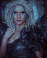 Black Fairy Copy by ektapinki