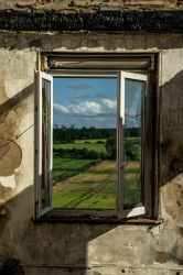 Window to the world by Str4wb