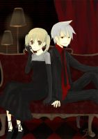Soul Eater: Soul and Maka by LoveSoup