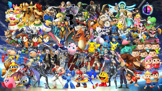 Super Smash Bros. Wallpaper by MidniteAndBeyond