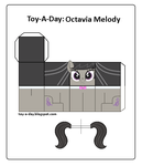 Toy-a-day Octavia Melody by GrapefruitFace1