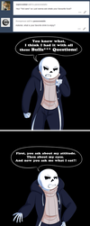 Undertale:: ParaverseTale:: Foodie Asks by SpaceJacket