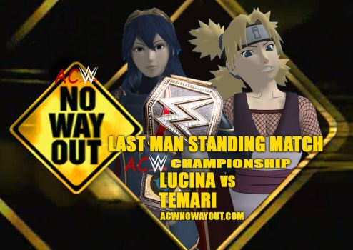 No Way Out 2018 - Last Man Standing Match by JoeyTribbiani125