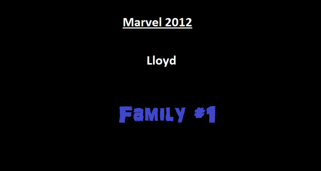 Marvel 2012 Lloyd 2 by RoninReviews3
