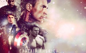 Captain America. by JacobBlacksPrincess