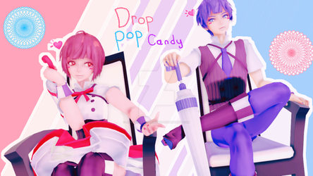 [MMD COLLAB WITH KAGAMINEMMD] Drop Pop Candy by AskTheCryptonloids