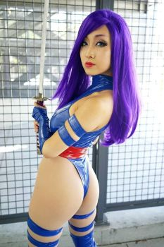 Psylocke: Unwielding by DollyLollipop