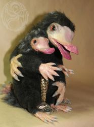 Niffler Poseable Artdolls! by SonsationalCreations