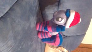 Twilight Sparkle plush with socks by Fluttershy103