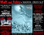 WULF and BATSY: MAGNUM ORGUS PreOrder Deal by BryanBaugh