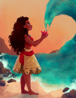 Moana by snownymphs